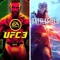 Pacote BATTLEFIELD V e EA SPORTS™ UFC® 3